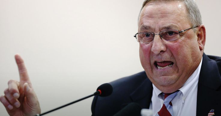 """How will the taxpayers of Maine react to learning that they pay Paul LePage to sit in his office """"and make up ways so they'll write these stupid stories""""?"""
