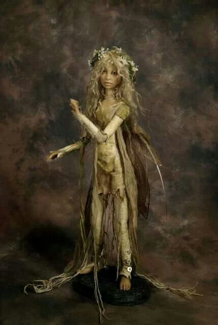 Woodland fairy, by Wendy Froud