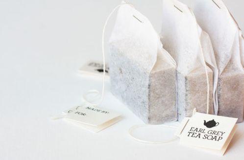 Great packaging idea for Tea Soap