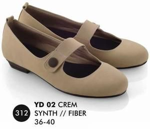 Sepatu Flat Wanita Casual Trendy [YD 002] (Brand Everflow) Free Ongkir