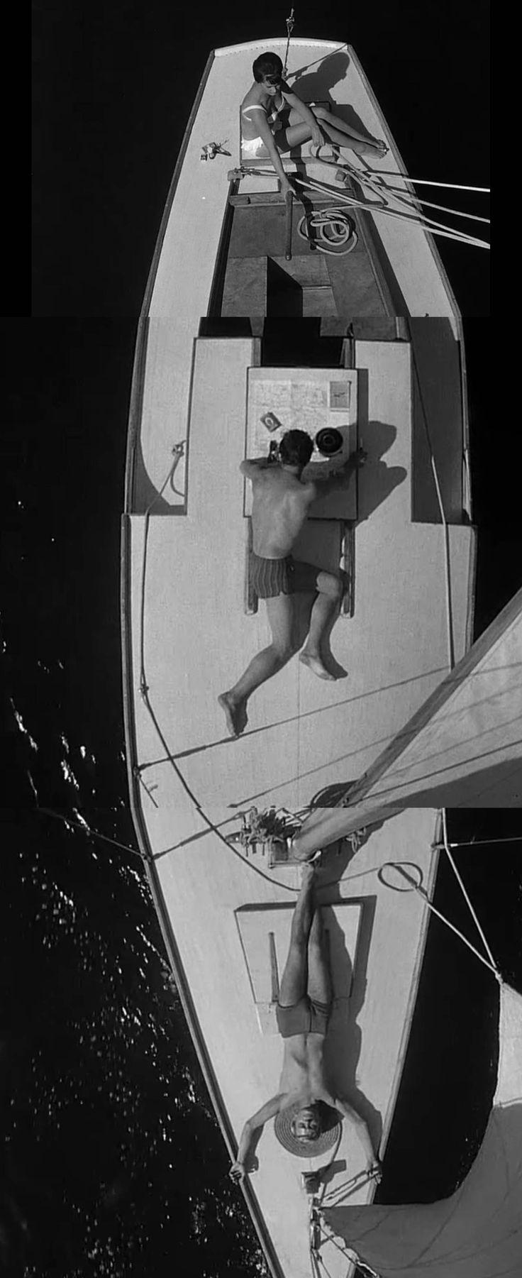 Knife in the water. 1962. Roman Polanksi.