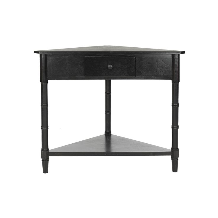 Safavieh Gomez Corner Accent Table, Black