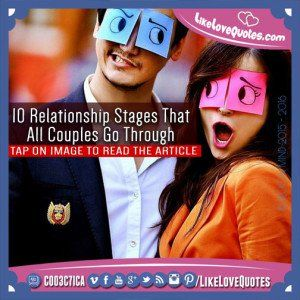 10 Relationship Stages That All Couples Go Through