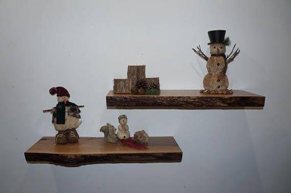 Oak Shelves, Rustic Floating Shelves, Hanging Shelves, Oak Wall Shelves, Floating Shelves, Rustic Shelves, Live Edge Shelves, White Oak
