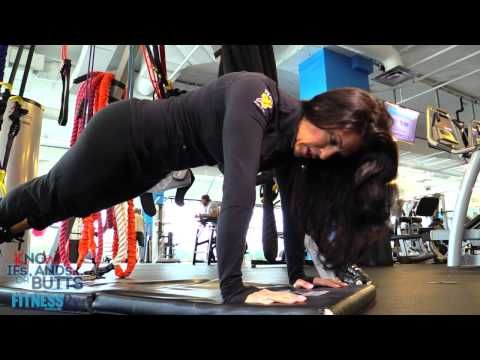 KNOw Ifs, Ands Or Butts with Amanda Latona - Episode 46: Suspended Plank with Knee Tuck