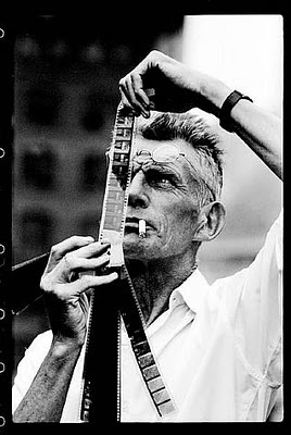 SAMUEL BECKETT trades in plot, characterization, and final solution, which had hitherto been the hallmarks of drama, for a series of concrete stage images. Language is useless, for he creates a mythical universe peopled by lonely creatures who struggle vainly to express the unexpressable. His characters exist in a terrible dreamlike vacuum, overcome by an overwhelming sense of bewilderment and grief, grotesquely attempting some form of communication, then crawling on, endlessly.