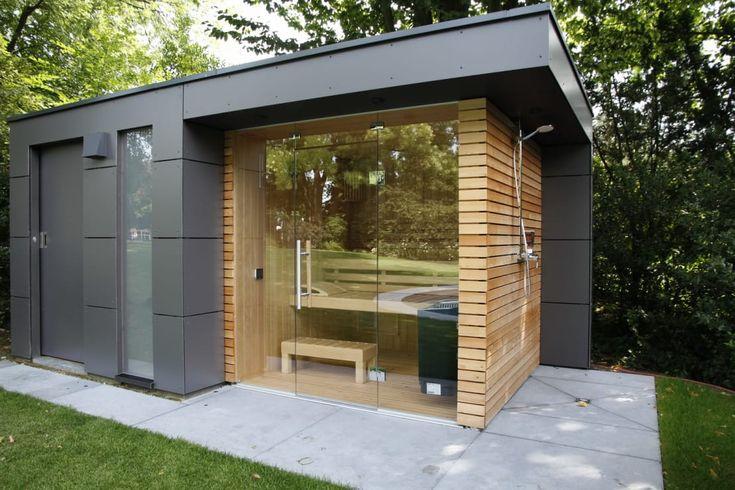 Sauna de jardim por protagonista de jardim   – Haus