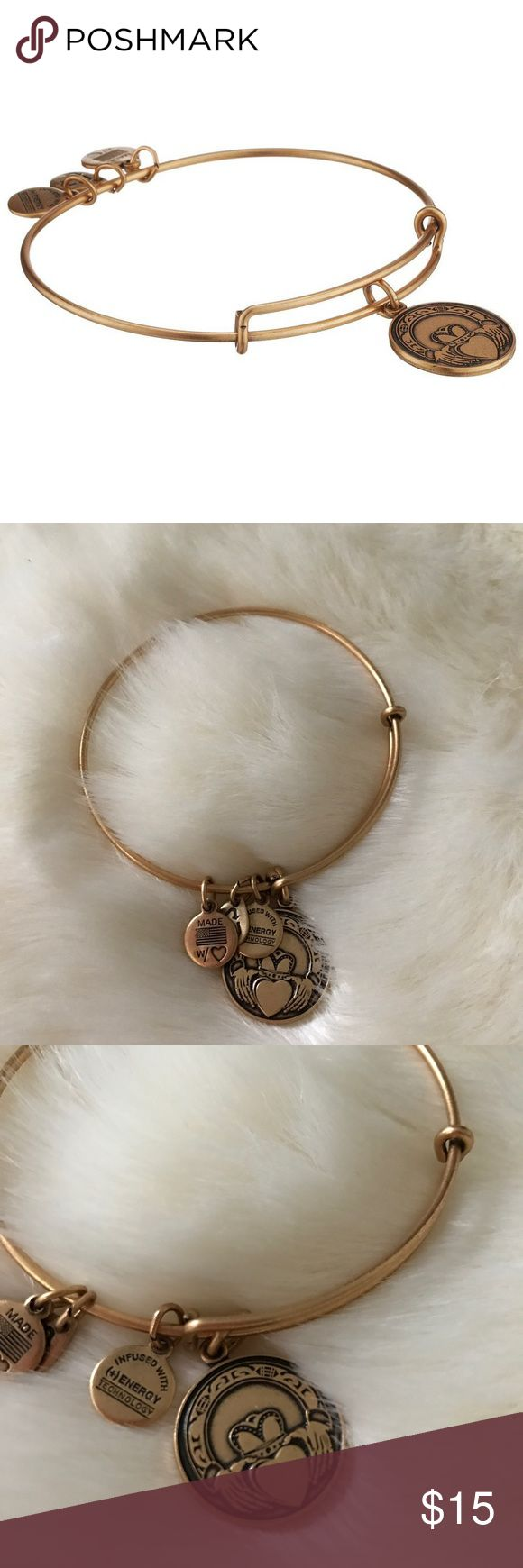 Alex And Ani Claddagh Charm Bangle The Claddagh Symbolizes The State Of The  Heart It