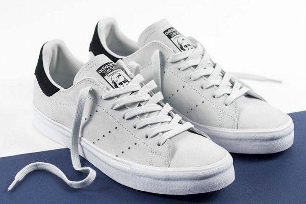 adidas originals stan smith vulc grey
