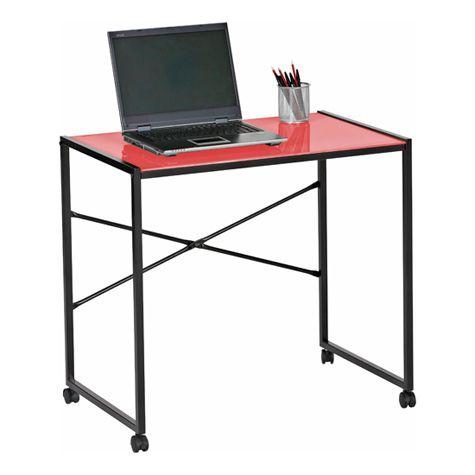 Olivia Mobile Glass Desk at $49.47 in Student Desks