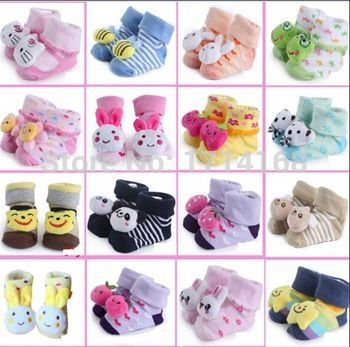 $0.28// Baby Socks// Sizes: 0-3 months, 4-6 months, 7-9 months// Delivery: 2-6 weeks