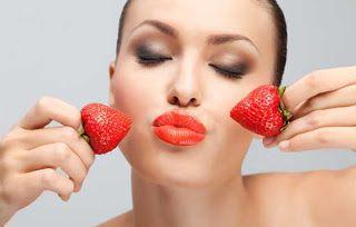 Καλλυντικά από σπίτι: Μάσκες προσώπου με φράουλες