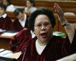 Sen. Miriam Defensor Santiago. AVENGER of #CJonTrial #CJTrial :) Cheif Justice Corona's Impeachment Trial