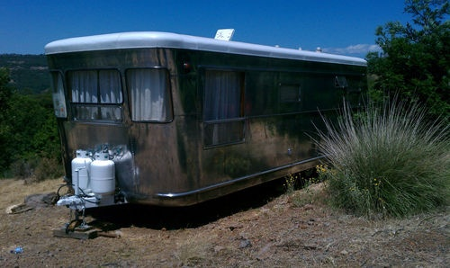 Vintage triailer 1954 chrome for sale