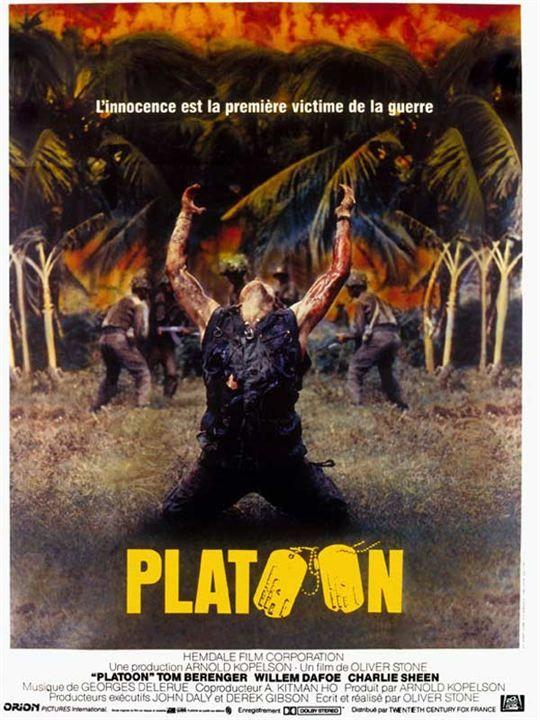 Platoon (1986), de Oliver Stone.