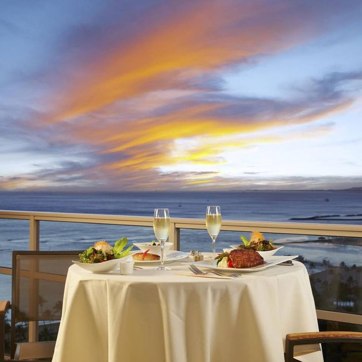 A private in-room dining service at Trump Waikiki cannot be beat.