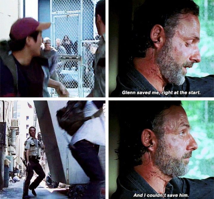 "I really miss Glenn :(. The Walking Dead S07 E12 ""Say Yes."" Season 7, Episode 12."