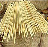 #7: Kabob skewers PACK of 500 8 inch bamboo sticks made from 100 % natural bamboo  shish kabob skewers  (500)