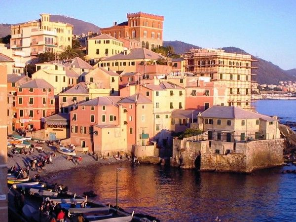 Boccadasse, Genova _ a place where to go with special friends