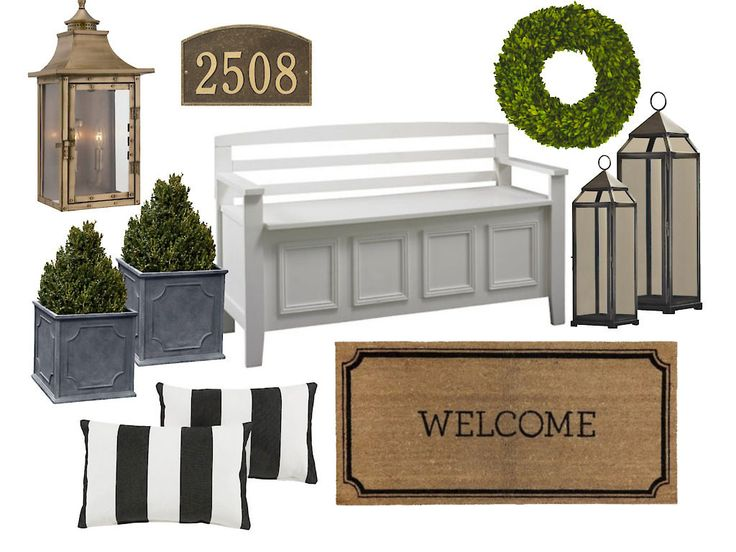 8 Styles of Front Porch Decor / #porchdecor #porchfurniture
