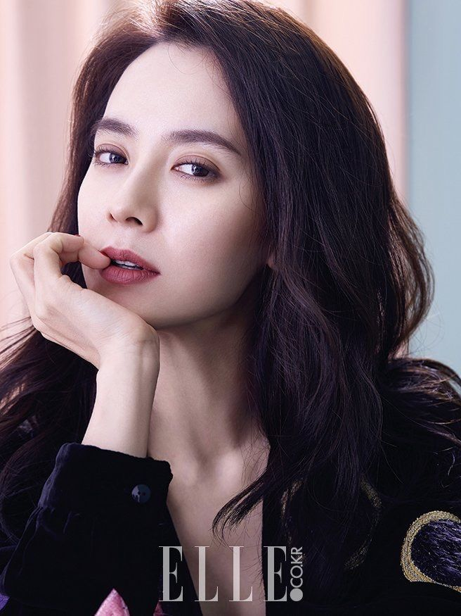 Song Ji Hyo for Elle Korea