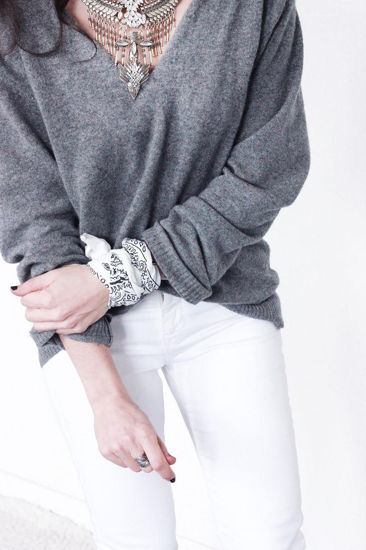 Pull-cachemire-Jean-Blanc-Bandana-blanc