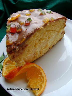 Reteta culinara Tort bomba de portocale din categoria Torturi. Specific Romania. Cum sa faci Tort bomba de portocale