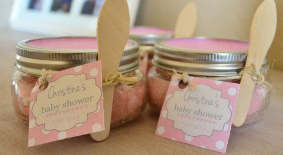 50 8oz Sugar Scrub For A Baby Shower (Party Favors) Girl or Boy (Bridal Shower/Wedding) Gift