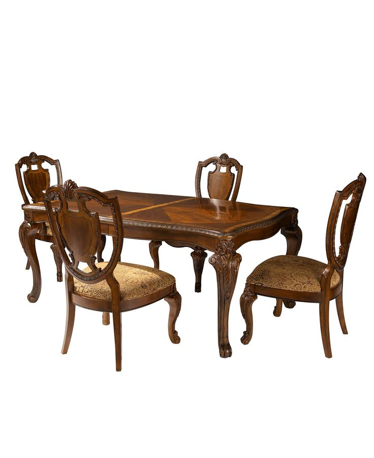 Royal Manor Dining Room Furniture 5 Piece Set Table And
