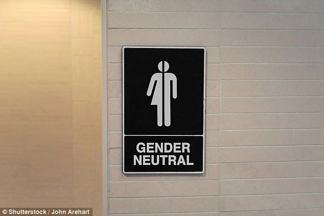 Toilet signs in the college that say 'male' and 'female' will be removed, to be replaced with ones which will read 'gender neutral toilets with cubicles' or 'gender neutral toilets with urinals' (file photo)