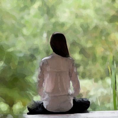 """A meditação é uma maneira de ir para dentro de si mesmo, de perceber que você não é o corpo e você não é a mente. É um modo de fixar em nós mesmos, no mais profundo centro do nosso ser; e uma vez que você encontrou o seu centro, você terá encontrado tanto suas raízes quanto suas asas."""" – Osho"""