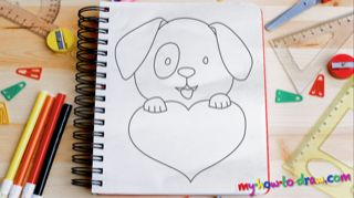 How To Draw A Dog Fun Drawing Lessons For Kids Amp Adults