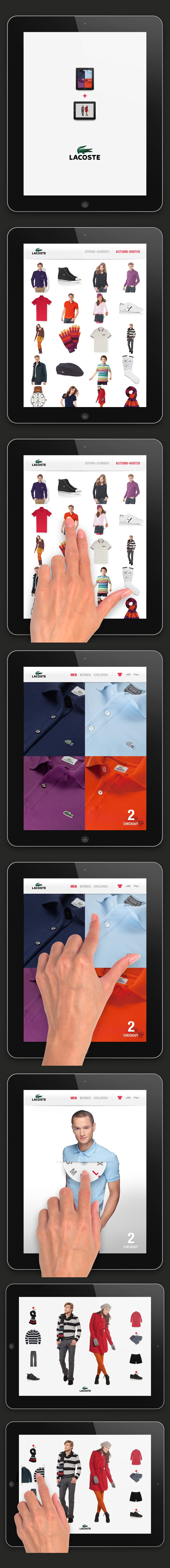 Lacoste iPad app / by Pierrick Calvez Studio Ltd.