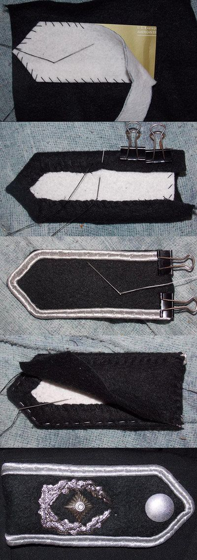 Handmaking Shoulder Epaulets for Military Costumes by zee-doktor-is-in