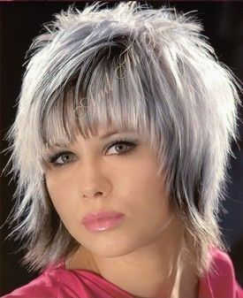 Shaggy Hairstyles for Round Faces | short-shag-hairstyle1