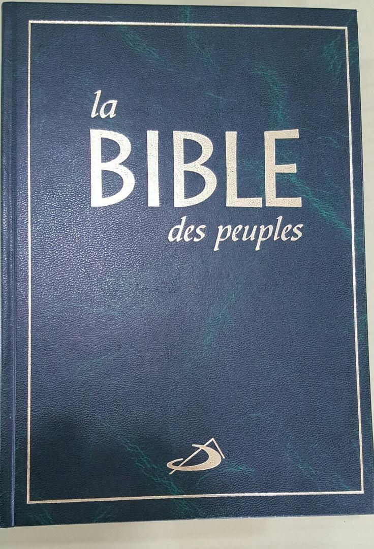 BIBLE DES PEUPLES (FRANCES)