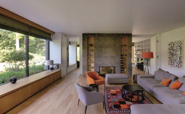 Moderne Innenarchitektur Haus Am See Seeshaupt