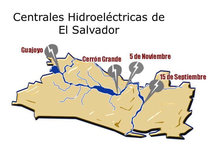 Centrales hidroelectricas de El Salvador.? A A