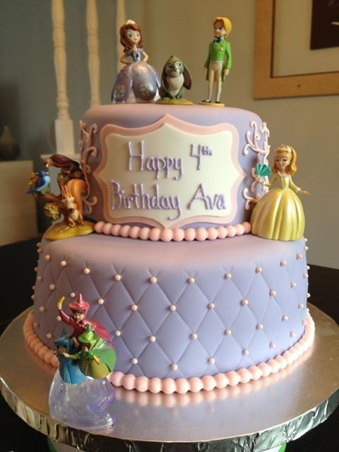 sofia the first birthday cake ideas | Pin Sophia The First Cake