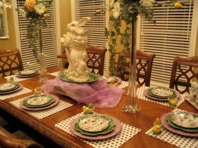 TIME 4 DESIGN: Ötletek a húsvéti asztal díszítésére