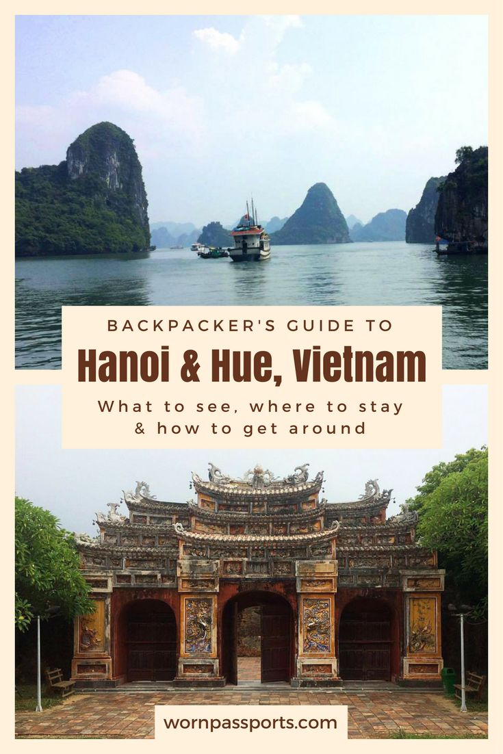 Travel guide to Hà Nội and Huế, Vietnam: Sample itinerary, advice, and recommendations from real travelers. Visit Halong Bay, Hoàn Kiếm Lake, Hoa Lo Prison, Temple of Literature, Tomb of Emperor Khai Dinh, Minh Mang Tomb, Tu Duc Tomb, Thien Mu Pagoda, & Imperial City like a pro. Learn about local restaurants and the best hostel to stay for female travelers.