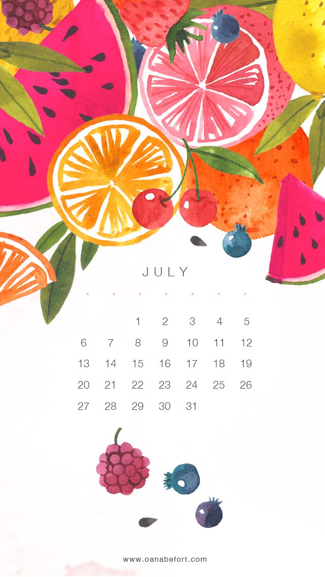 All sizes | July Calendar - iPhone5 | Flickr - Photo Sharing!