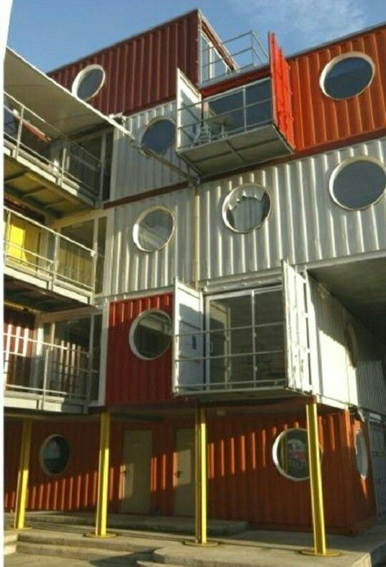 63 best Boxcar Homes images on Pinterest   Shipping containers,  Architecture and Boxcar