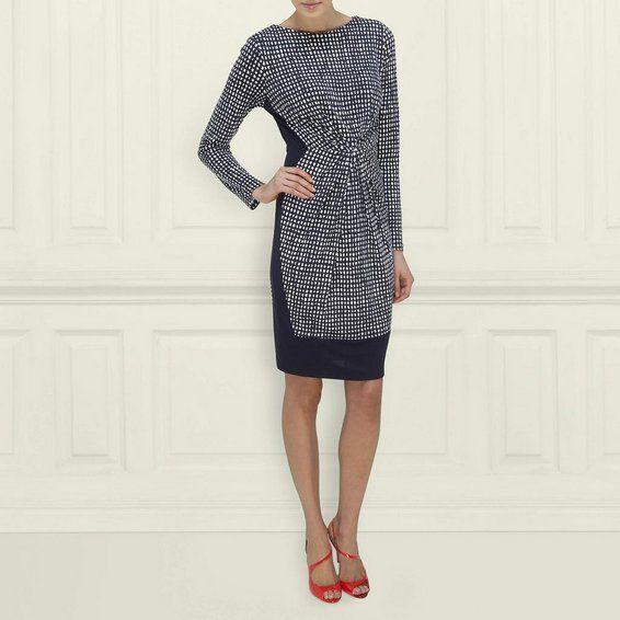 Safi Colour Block and Print Dress