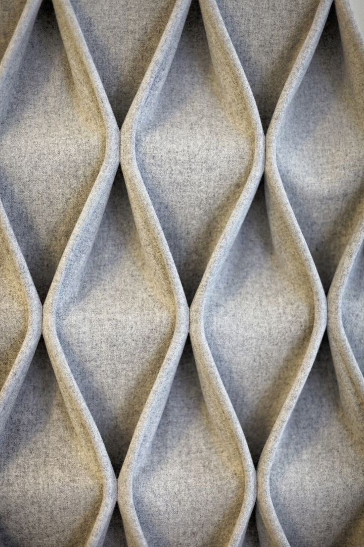 CABLE Fabric decorative acoustical panels by Anne Kyyrö Quinn design Anne Kyyrö Quinn