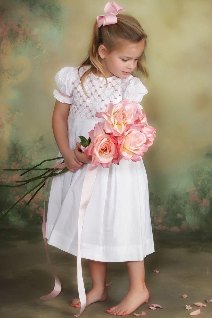 Addison - Smocked Easter Dress