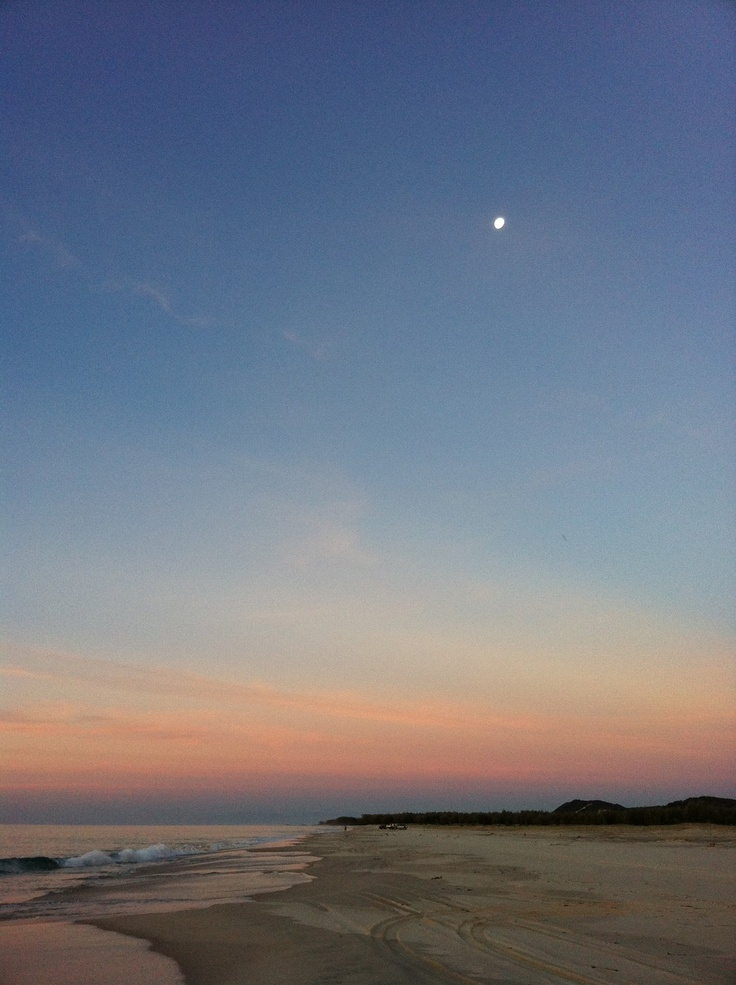 moreton island, qld