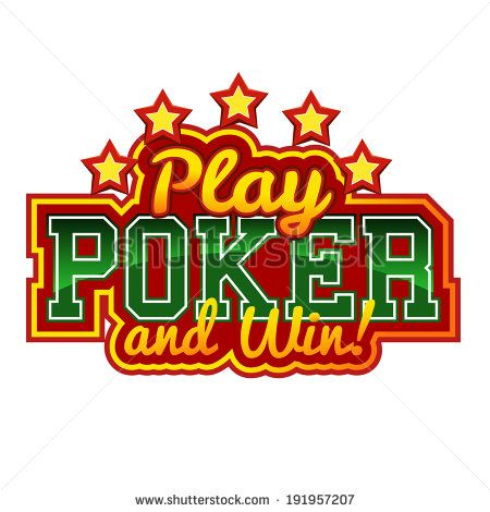 Stock Images similar to ID 191957201 - play poker sign