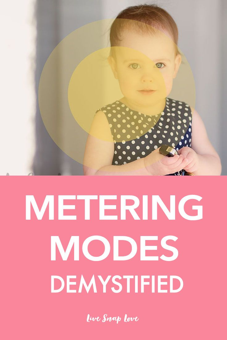 Learn all about metering modes: Why they are so important, how they work, which one to use, and how to change them!