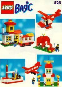 LEGO® Instructions 0525 Basic building set